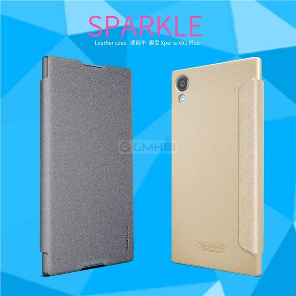 hot sales 7d3bf 0d022 Sony Xperia XA1 Plus Nillkin SPARKLE Smart Cover Flip Case Auto Sleep