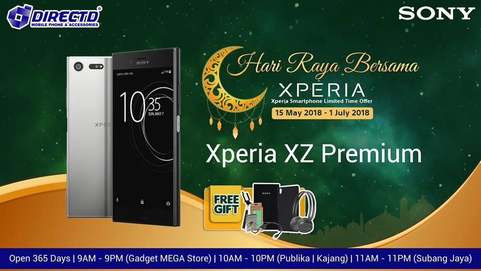 SONY XPERIA XZ PREMIUM (ORIGINAL) + EXCLUSIVE GIFT WORTH RM448