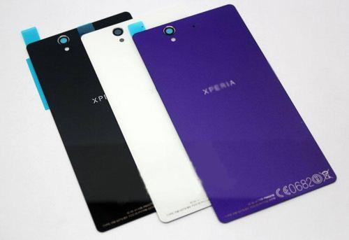 Sony Xperia Z L36h Housing Battery Back Glass Cover Lens