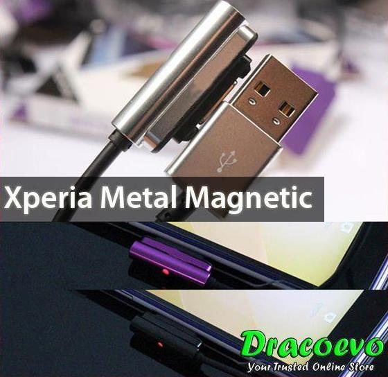 Sony Xperia Z Ultra Z1 Z2 Z3 Mini Compact Metal Magnetic Cable. ‹ ›