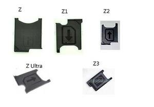 Sony Xperia Z Z1 Z2 Z3 Z Ultra T2 / XL39 Sim Card Tray SimTray Slot