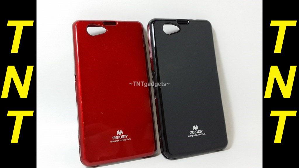 san francisco b1baf 005f6 Sony Xperia Z1 Compact mercury jelly silicone case