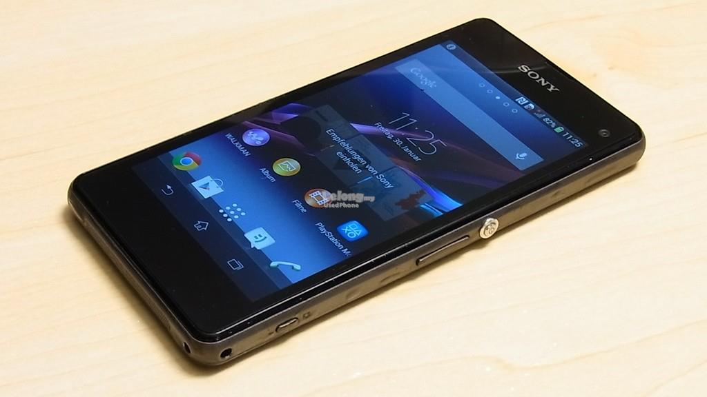 sony xperia z1 compact original used end 7 28 2017 6 15 am. Black Bedroom Furniture Sets. Home Design Ideas