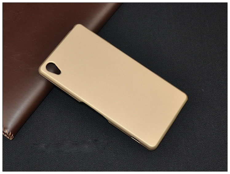 Sony Xperia Z2 L50W D6503 Hard Back Case Cover Casing+Free SP(Gold)