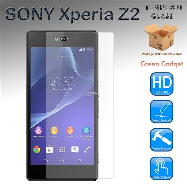 SONY Xperia Z2 Tempered Glass Screen Protector