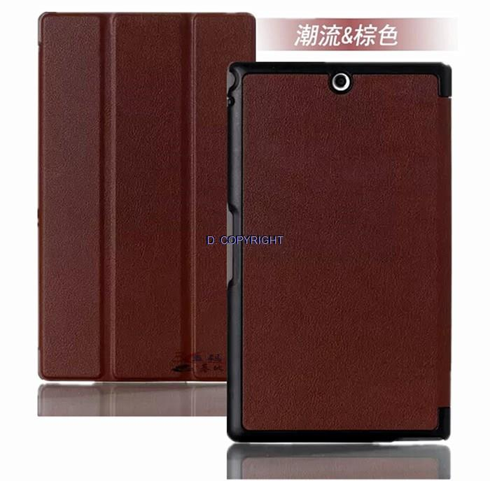 Sony Xperia Z3 Compact Case Casing Cover leather feel