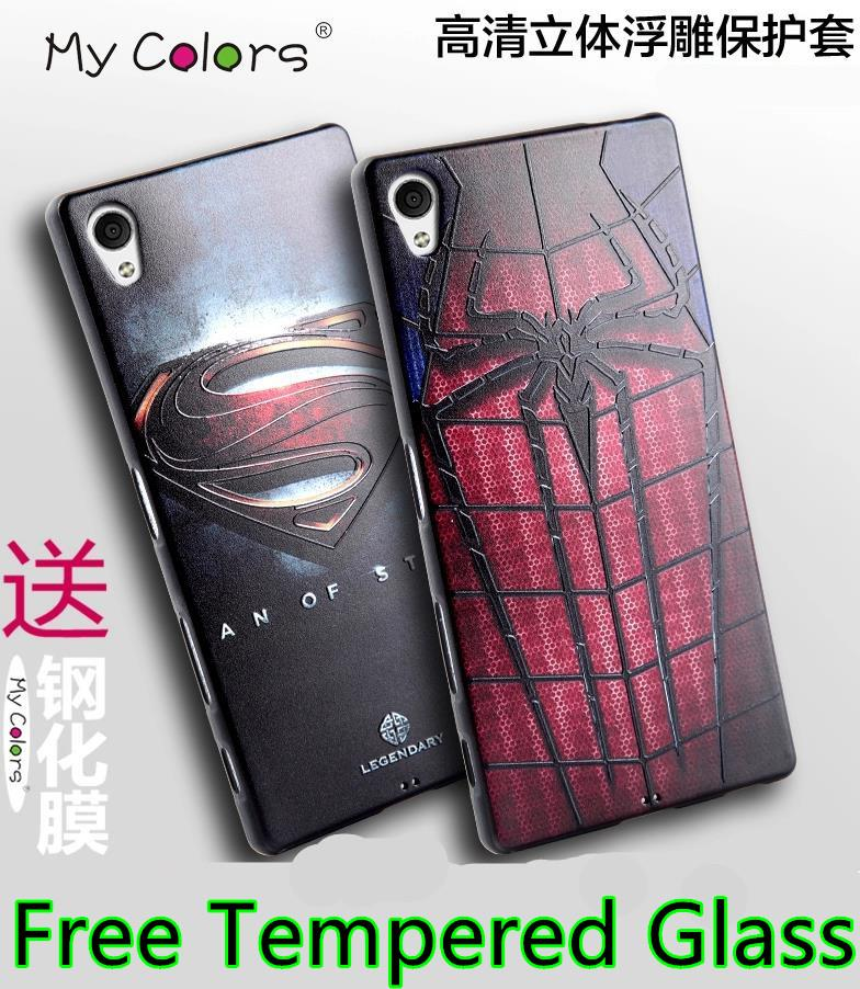 hot sale online 17cbb c2792 Sony Xperia Z5 Premium / Compact 3D Relief Silicone Case Cover Casing