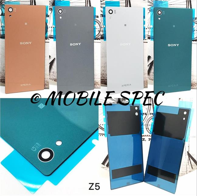 on sale 3a57f 01beb SONY XPERIA Z5 / Z5 DUAL BATTERY BACK COVER HOUSING REPLACEMENT CASE