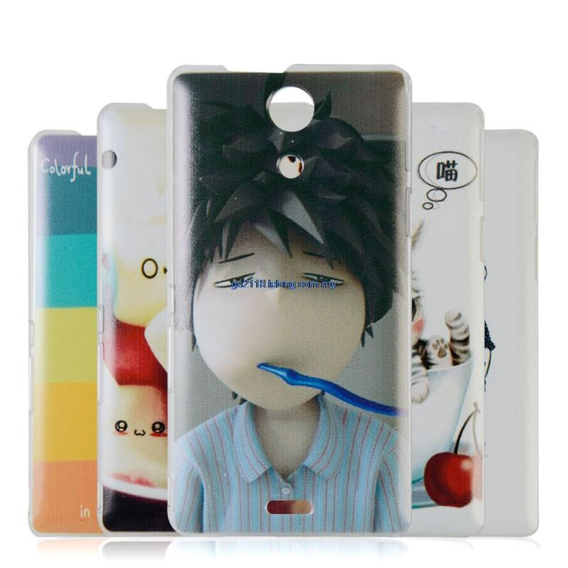 huge discount ec3c1 2c18c Sony Xperia ZR Cartoon Back Case Casing Cover