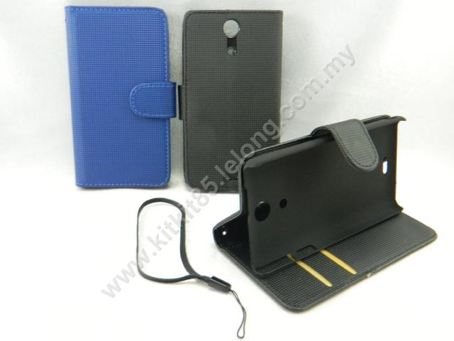 Sony Xperia ZR M36h Book Side Flip Leather Case Pouch