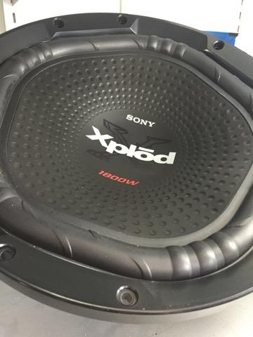 "SONY XS-NW1200 12"" car woofer"