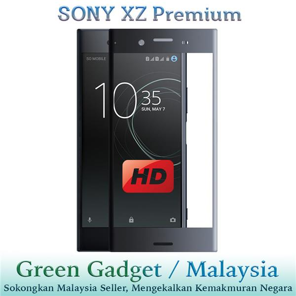 SONY XZ Premium Full Glue 3D Screen Protector Tempered Glass