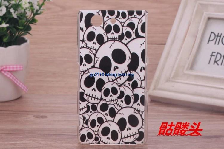 Sony Z3 Compact Z3 Mini Back Case cover casing Cartoon case
