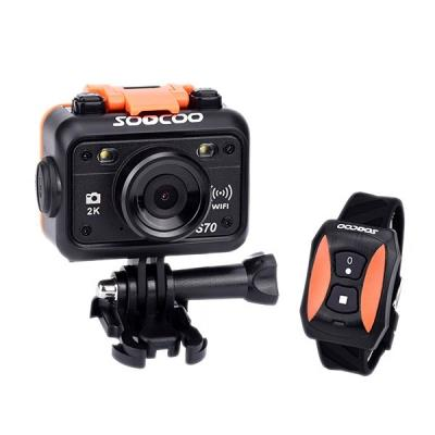 SOOCOO S70 Build-in WiFi Sports Action Camera 2K@30fps 1080p@60fps 60M