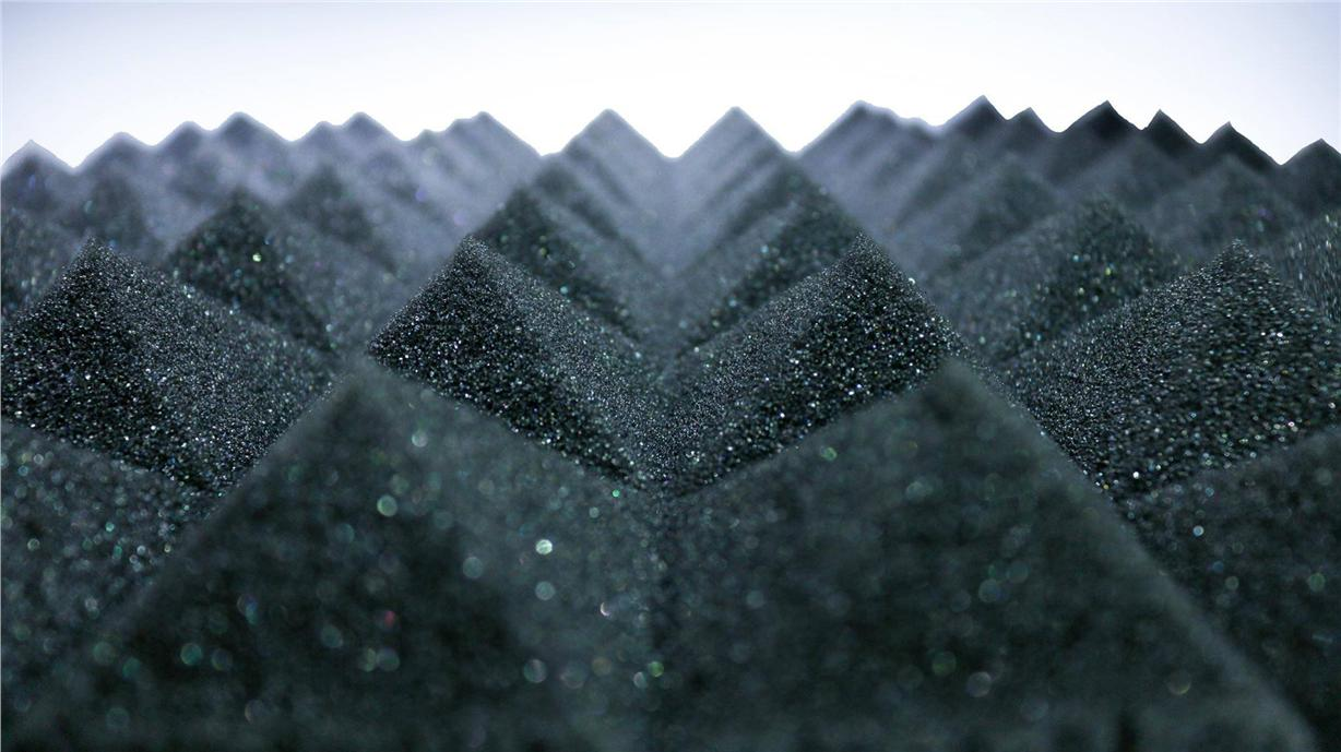 SoundHeal High Density Sound Proof Pyramid Acoustic Foam