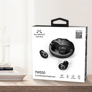 SoundMAGIC TWS50 True Wireless Stereo Bluetooth Earbuds