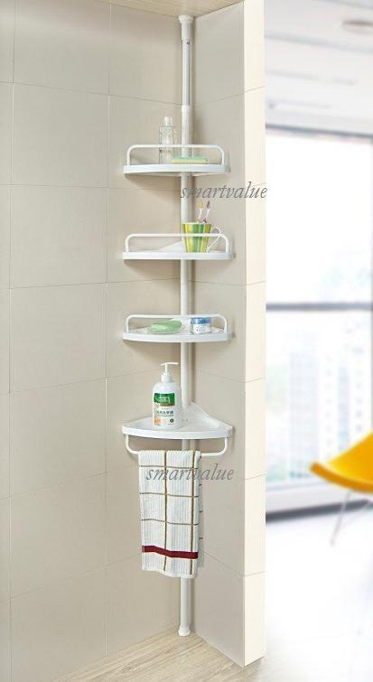 Bathroom Extendable Shelf Design