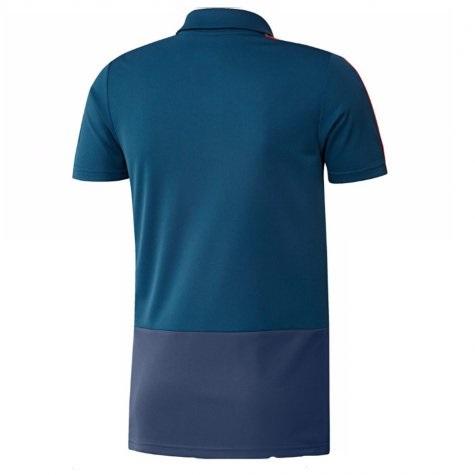 Spain Training Polo Shirt (Blue) 2 (end 12 23 2020 12 00 AM) 3734f3162