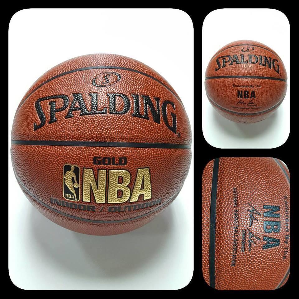 Spalding NBA Gold Series Basketbal (end 12 29 2017 10 15 PM) cee6d4e7a