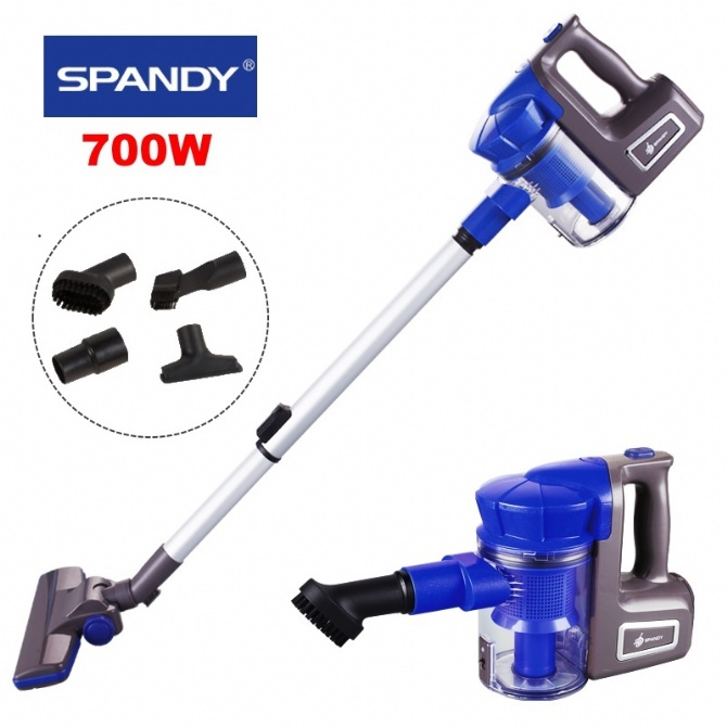 Spandy Dual Cyclone Handheld Vacuum Cleaner 700W