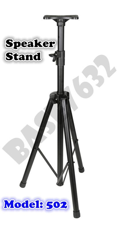 Speaker Audio Tripod  Strong Stand Mount Bracket Frame Holder 502