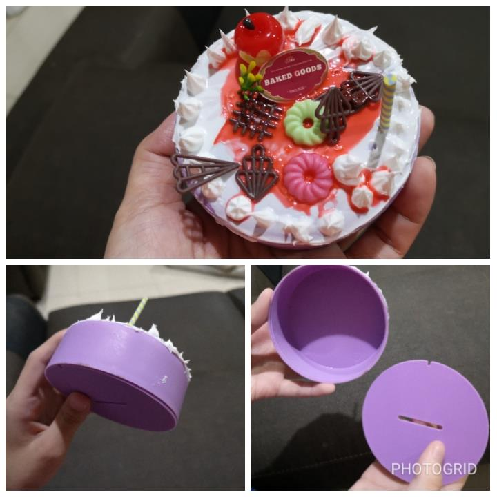 Special school holiday game DIY cake deco