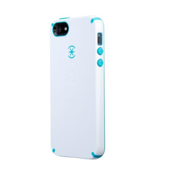newest 767d5 a70bf Speck Samsung Galaxy S4 CandyShell (White/Caribbean Blue)
