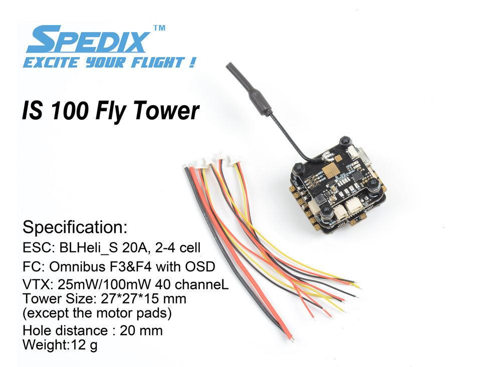 Spedix IS100 Fly Tower (F4 Version)