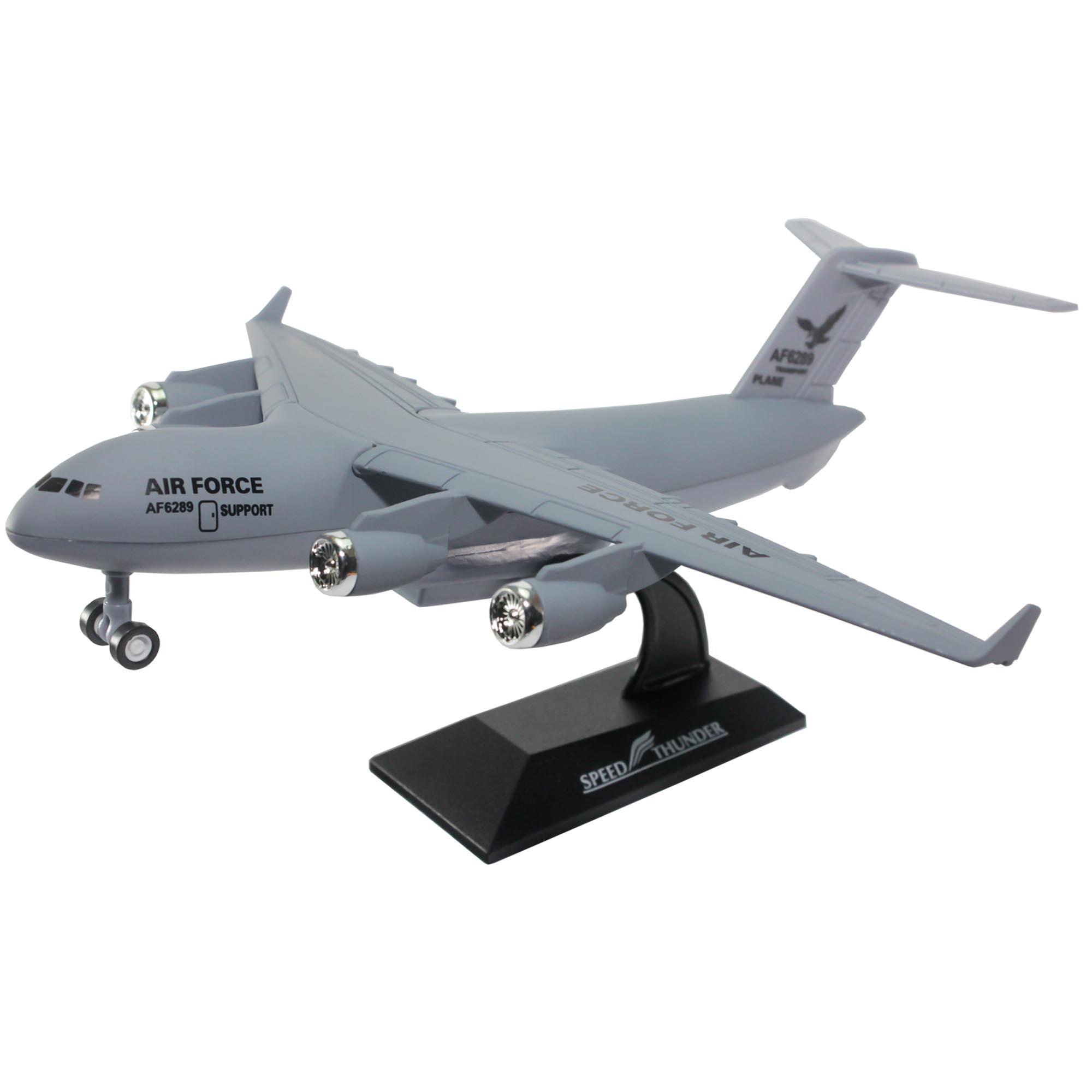 Speed Thunder 1300 Die Cast C 17 T End 2 11 2020 1025 Am 04 Pesawat Remote Kontrol Transport Plane Air Force Grey