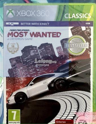 Need for Speed Most Wanted for Xbox 360 (All Region)