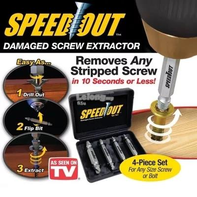 SpeedOut Damaged Screw Remover Extractor Tool