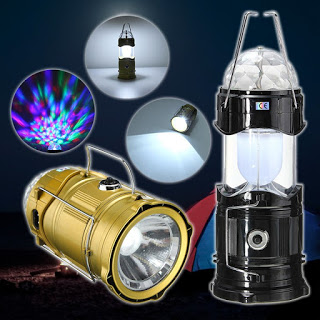 Color Multifunctional Camping Spheric Led Lamp Light Party 9EHW2eYDI