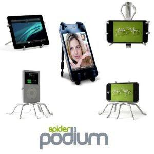 Spider Mount Stand Mp4 GPS Iphone Ipad Samsung Holder