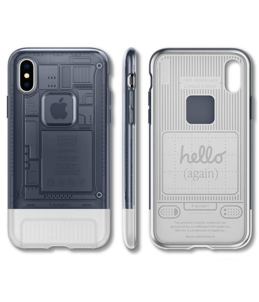 first rate 4f681 c1ea8 SPIGEN Classic C1 [10th Anniversary Limited Edition] iPhone X Case - G