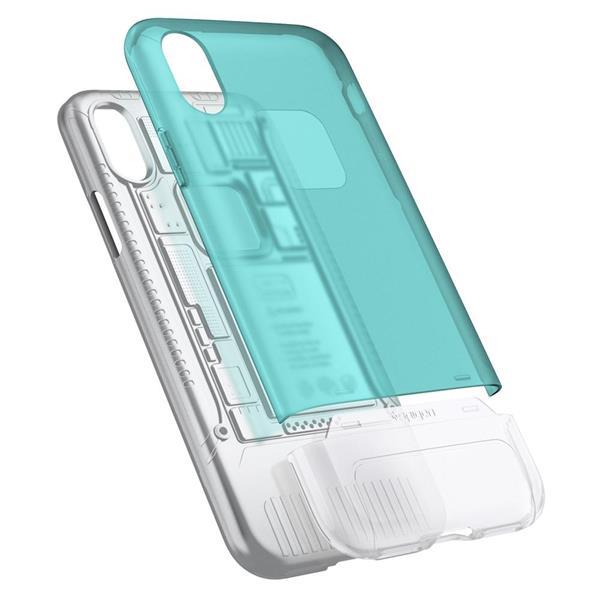 factory price 41fce 76b78 Spigen Classic C1 iMac G3 Inspired Case for Apple iPhone X Bondi Blue