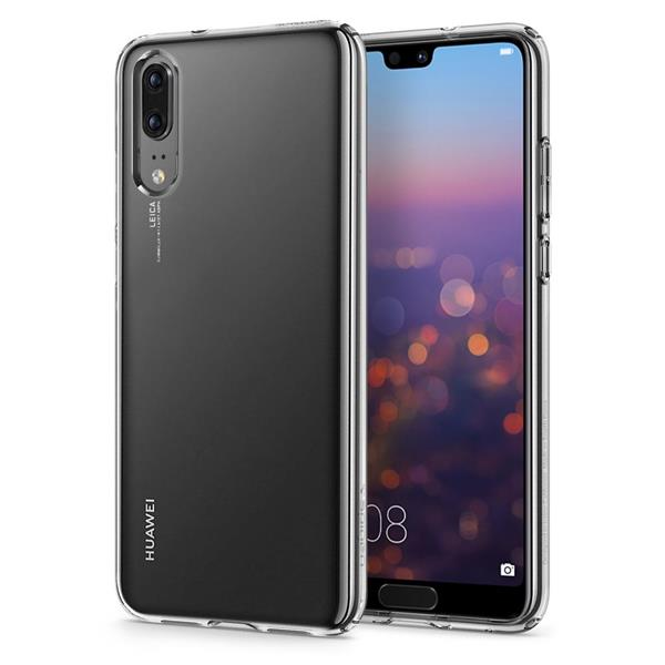 Spigen Liquid Crystal Protective Case for Huawei P20 (Crystall Clear)