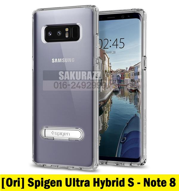 Spigen PC and TPU Ultra Hybrid S Crystal Clear Samsung Galaxy Note 8