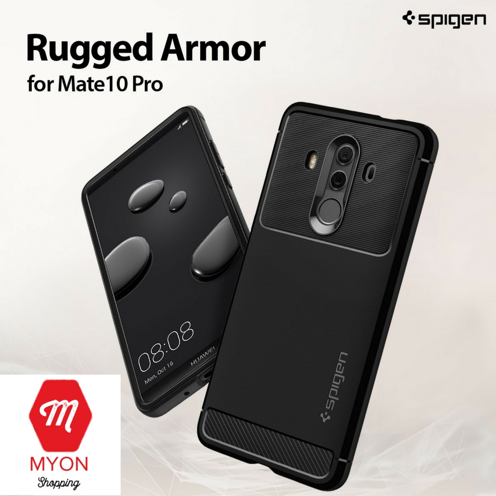 newest 9ab81 1c7a5 SPIGEN Rugged Armor Case for Huawei Mate 10 Pro