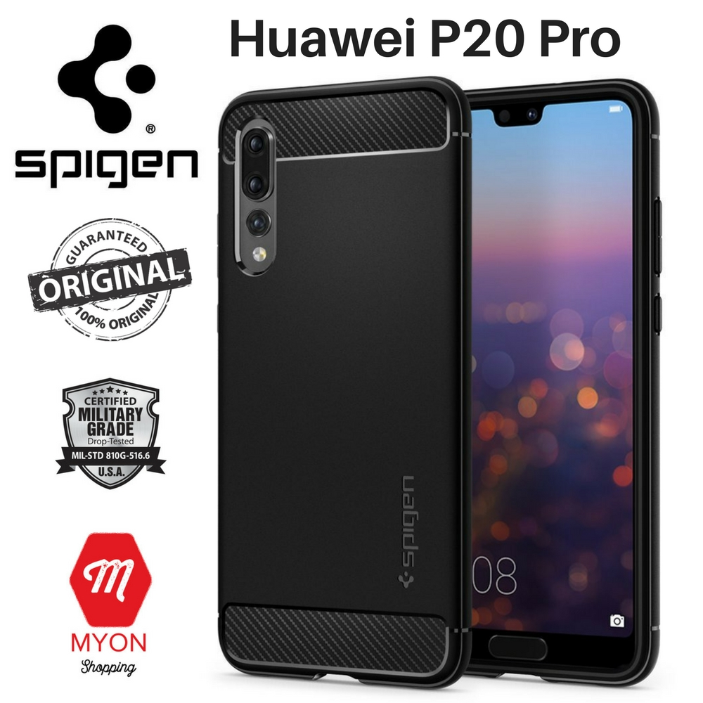 cheap for discount 664b9 6648f SPIGEN Rugged Armor Case for Huawei P20 Pro [Shock Absorption]