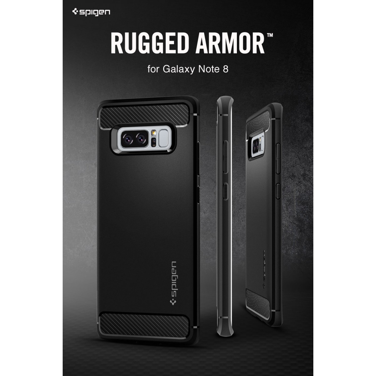size 40 4f6fd 8d34c SPIGEN Rugged Armor case for Samsung Galaxy Note 8