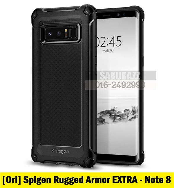 Spigen  Rugged Armor EXTRA Series Samsung Galaxy Note 8