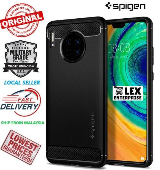 SPIGEN Rugged Armor Huawei Mate 30 Military Grade Case Cover Casing