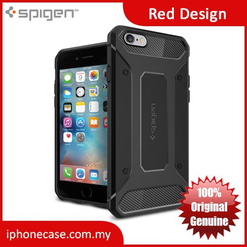 uk availability 92a36 7900f Spigen Rugged Armor Protection Case for iPhone 6S Plus 5.5