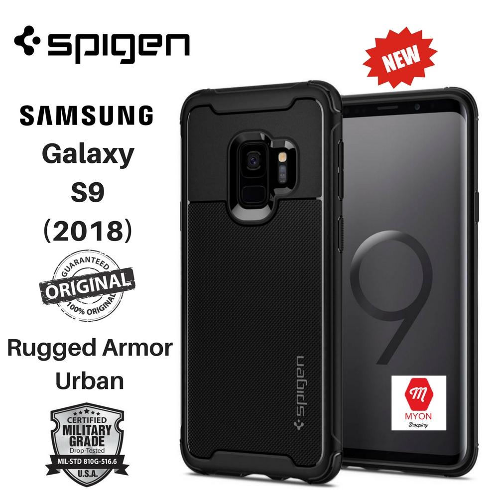 the best attitude d879c f5351 SPIGEN Rugged Armor Urban Case Samsung Galaxy S9 (2018)