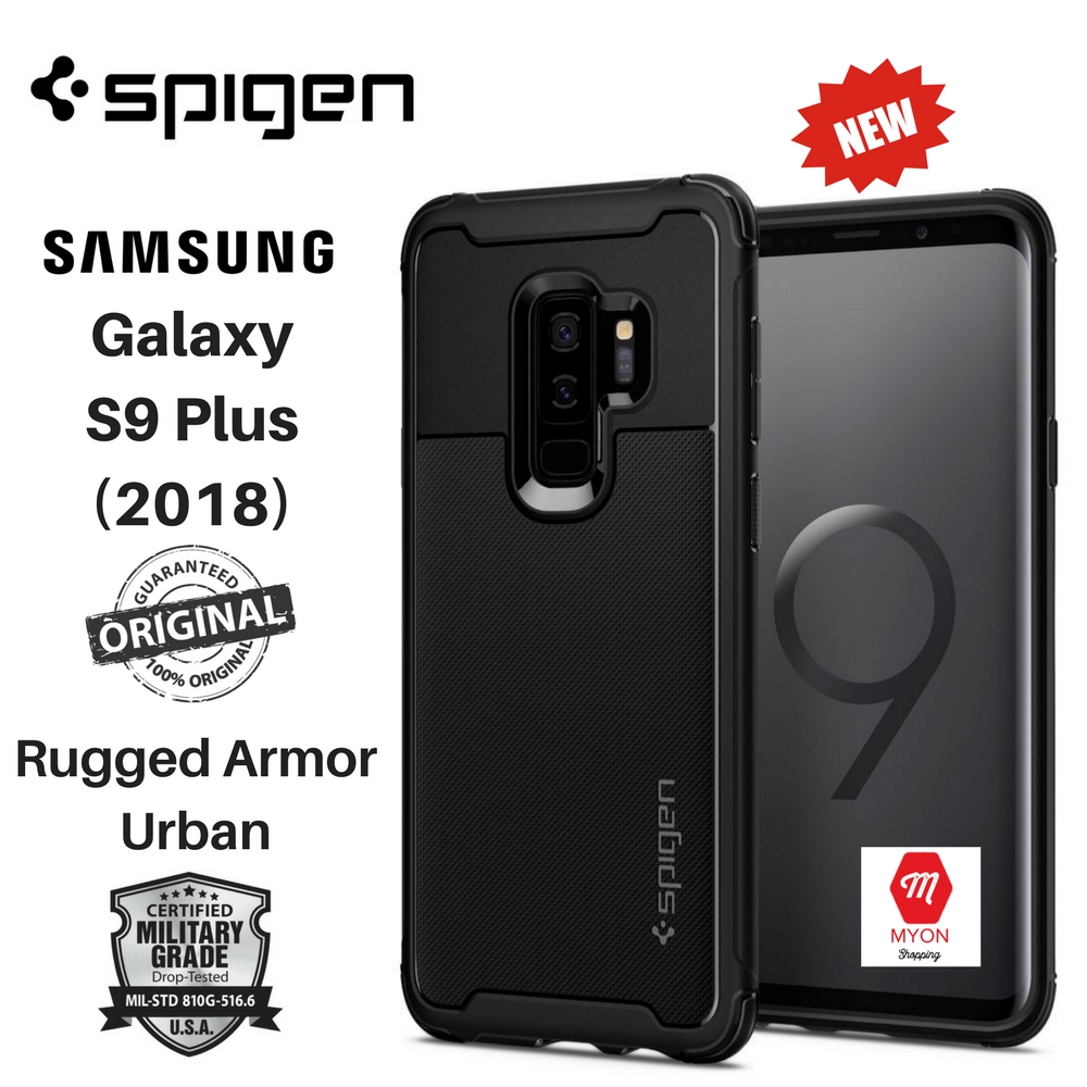 sale retailer fd63e 9d2ba SPIGEN Rugged Armor Urban Case Samsung Galaxy S9 Plus (2018)