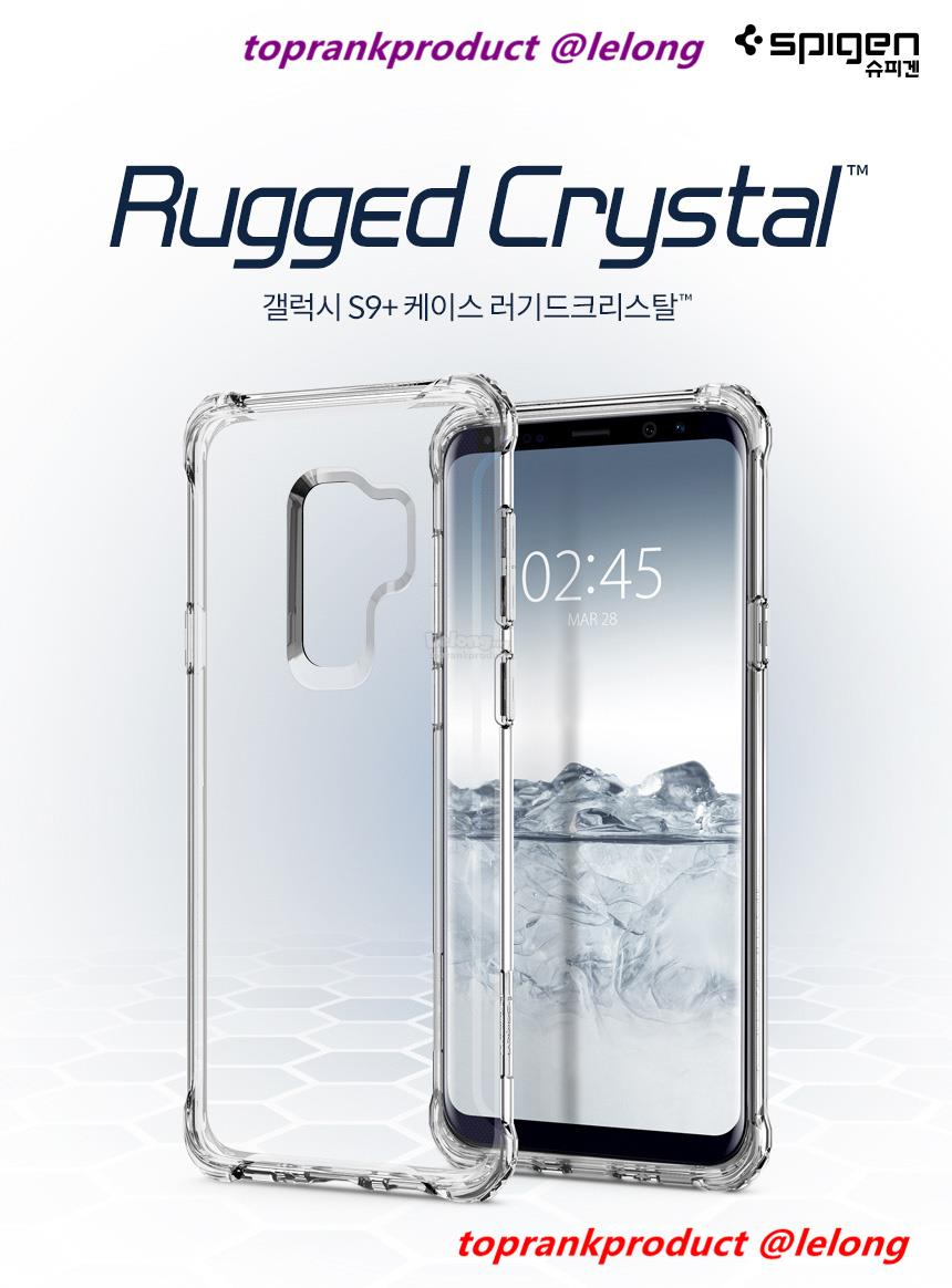 online retailer 9464d 86734 Spigen Samsung Galaxy S9 S9+ Plus Rugged Crystal Case Cover Casing