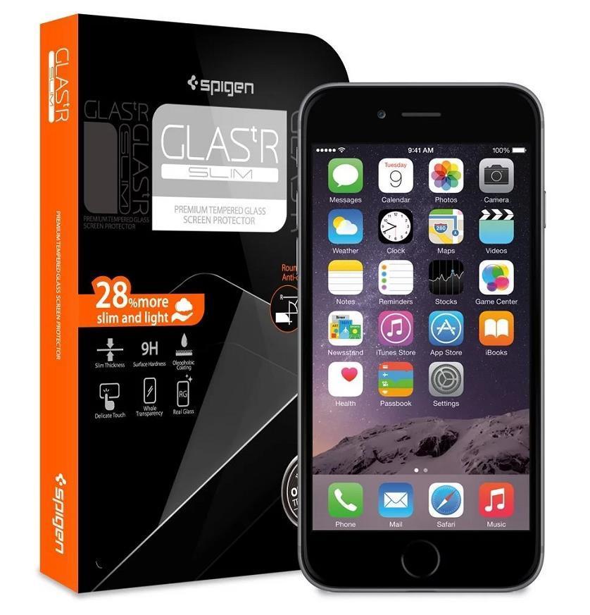 cheaper 63013 27073 Spigen SGP Apple iPhone 6 6S/ 6 Plus Glas.tR Slim 9H Tempered Glass