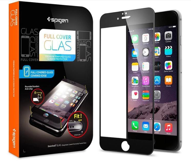 Spigen SGP Full Cover Glass Screen Protector Apple iPhone 6S 6 6 PLUS