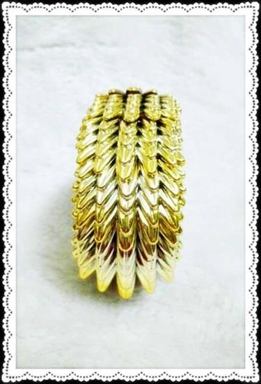 Spikes Gold Tribal Bangles (Free Shipping)