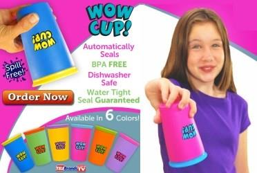 Spill Free Drinking Cup (Wow Cup)